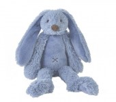 Rabbit Richie deep blue happy horse